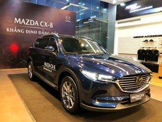 Bán Mazda CX-8 2021, chỉ 240 triệu nhận xe ngay, hỗ trợ vay 90%, nhiều quà tặng hấp dẫn trong T4, giao xe tận nhà giá rẻ nhất Sài Gòn