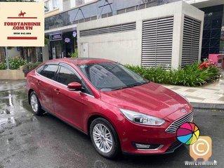 Xe Ford Focus Titanium sản xuất 2019, màu đỏ, xe nhập giá cạnh tranh