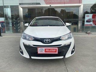 Cần bán xe Toyota Vios 1.5G CVT 2019 màu trắng gia đình đi 68.000km - Xe cũ chính hãng Toyota Sure