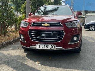Cần bán lại xe Chevrolet Captiva đời 2018, màu đỏ