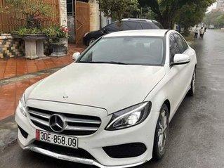 Cần bán lại xe Mercedes C class sản xuất năm 2015, màu trắng còn mới