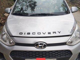 Bán xe Hyundai Grand i10 đời 2019, màu bạc chính chủ, giá tốt