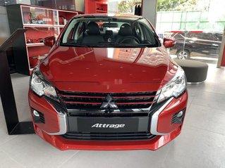 Bán ô tô Mitsubishi Attrage năm 2021, màu đỏ, nhập khẩu nguyên chiếc