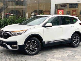 """Honda CRV 2021 bản cao cấp - Honda Tây Hồ khuyến mãi """"sốc"""" 100 triệu, tặng tiền mặt, phụ kiện"""