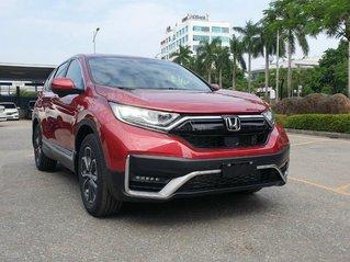 Siêu khuyến mại Honda CRV 2021 - giá tốt nhất Hà Nội - giảm 100 triệu tiền mặt - tặng bảo hiểm thân vỏ, phụ kiện