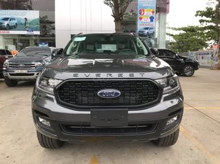 Ford Bình Thuận - Ford Everest 2021 ưu đãi khủng lên đến 100tr - xe có sẵn giao ngay - hỗ trợ trả góp lãi suất ưu đãi