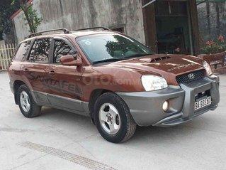 Cần bán Hyundai Santa Fe sản xuất năm 2002, màu nâu còn mới, 230tr