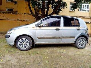 Xe Hyundai Getz đời 2008, màu bạc, nhập khẩu