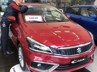 Cần bán Suzuki Ciaz sản xuất 2021, màu đỏ, 490 triệu, tặng 10 triệu phụ kiện