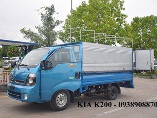 Xe tải Kia K200 mui bạt- hỗ trợ trả góp 80%