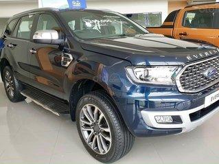 Ford Everest Titanium 2021 tặng BHVC và khuyến mãi tiền mặt