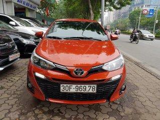 Toyota Yaris 1.5G nhập khẩu 2019, màu cam đốt cháy đam mê