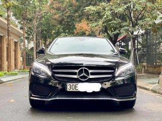 Cần bán gấp Mercedes C300 AMG đen nội thất đỏ, năm sản xuất 2016