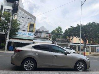 Bán ô tô Mazda 3 đăng ký lần đầu 2016, màu vàng, ít sử dụng giá tốt 535 triệu đồng