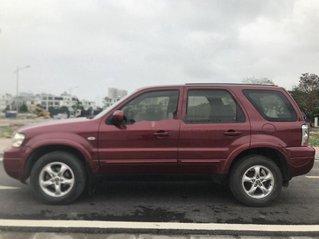 Cần bán gấp Ford Escape sản xuất 2007, màu đỏ chính chủ, giá tốt