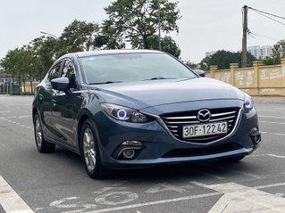 Bán Mazda 3 1.5AT 2016 màu xanh, sản xuất 2016