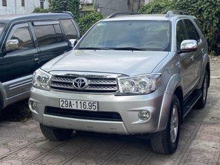 Bán Toyota Fortuner 2.7V 2011 màu bạc, số tự động 2 cầu sản xuất năm 2011, giá tốt