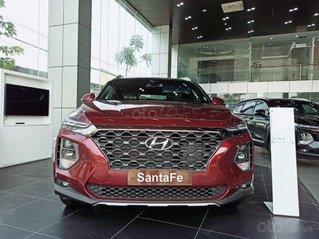 Hyundai Santafe 2021 - hỗ trợ vay 90% - bão hành 5 năm