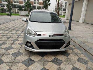 Cần bán Hyundai Grand i10 năm 2017, màu bạc, nhập khẩu nguyên chiếc chính chủ, giá chỉ 346 triệu