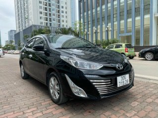 Bán xe Toyota Vios sản xuất 2019, màu đen, giá tốt
