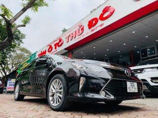Bán ô tô Toyota Camry đời 2018, màu đen, giá tốt