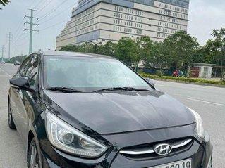 Bán ô tô Hyundai Accent 2016, màu đen, nhập khẩu số sàn
