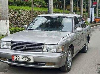 Cần bán lại xe Toyota Crown 2.2 MT năm 1992, màu xám, nhập khẩu xe gia đình, giá 90tr