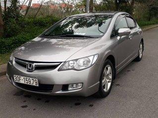 Cần bán Honda Civic năm 2007, màu xám còn mới