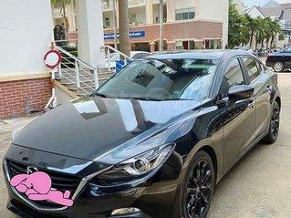 Cần bán lại xe Mazda 3 năm 2015, màu đen