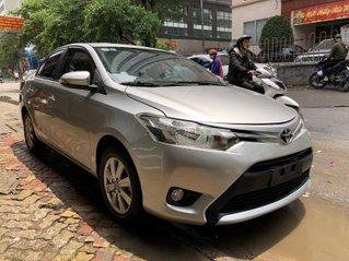 Toyota Vios 2017 bản E- CVT, màu bạc