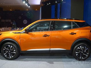 Peugeot 2008 GT-Line, màu cam, ưu đãi hấp dẫn