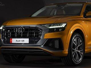 [Audi TP. HCM] xe sang Audi Q8 đời mới 2021, hỗ trợ vay ngân hàng lãi suất cực ưu đãi