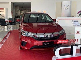 Bán xe Honda City năm sản xuất 2021, màu đỏ, giá 569tr