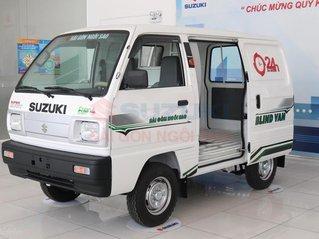Suzuki Việt Anh_Hà Nội  Bán ô tô Suzuki Blind Van sx 2021, giảm giá 43tr chỉ còn 250tr, chạy giờ cao điểm 24/24