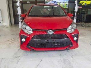 Bán Toyota Wigo 1.2 AT sản xuất 2021, màu đỏ, nhập khẩu