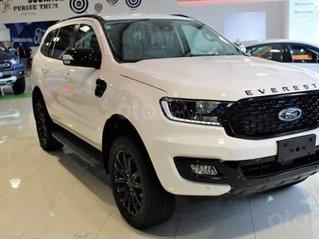 Bán Ford Everest New 2021, sẵn xe, đủ màu giao toàn quốc, giá cực ưu đãi, giảm tiền mặt tặng kèm phụ kiện chính hãng