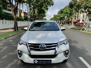 Bán xe Toyota Fortuner 2.8V sx 2020 bản full, trắng ngọc trai đẹp xuất sắc