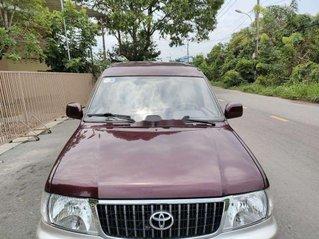 Bán Toyota Zace GL năm 2003, màu đỏ như mới