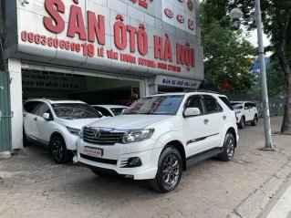 Sàn Ô T Sàn Ô Hà Nội bán Toyota Fortuner 2.7 màu trắng sx 2016 xe đi rất ít nội ngoại thất đẹp