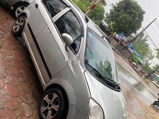 Cần bán Chevrolet Spark Van đời 2012, màu bạc