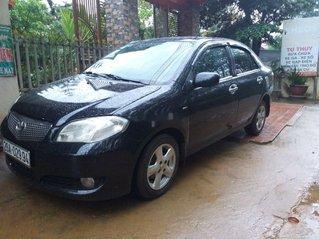 Cần bán xe Toyota Vios đời 2007, màu đen