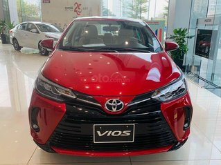 Toyota Hà Nội - Toyota Vios 2021 - tặng bảo hiểm - giảm tiền mặt trực tiếp - hỗ trợ vay 90% - đủ màu giao ngay