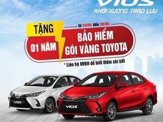 Bán Toyota Vios 2021 chỉ từ 478tr, full quà giao ngay