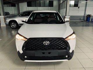 Bán ô tô Toyota Corolla Cross năm sản xuất 2021, màu trắng, xe nhập
