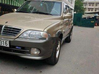 Cần bán xe Ssangyong Musso năm 2007, màu vàng, nhập khẩu