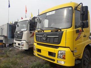 Xe tải nhập khẩu Dongfeng B180 thùng, tiêu chuẩn dài 9,5m trả trước 250tr nhận xe