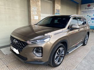 Bán xe Hyundai Santa Fe năm 2019, màu nâu còn mới