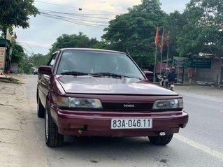 Cần bán lại xe Toyota Camry 1987, màu đỏ, nhập khẩu nguyên chiếc