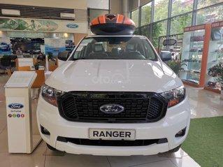 Ký ngay Ford Ranger XLS 2.2L 4x2 AT 2021, giá tốt, tặng phụ kiện hấp dẫn. Chuẩn bị 180 triệu lấy xe