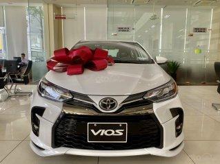 Toyota Thăng Long bán Vios 2021, hỗ trợ trả góp đến 80%, giảm giá tiền mặt hấp dẫn, full màu giao ngay